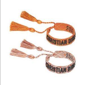 Christian Dior woven bracelets